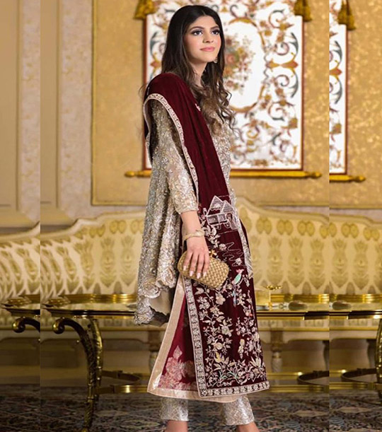 Womens Latest Wedding Wear Collection 2020 By Zainab Salman (9)