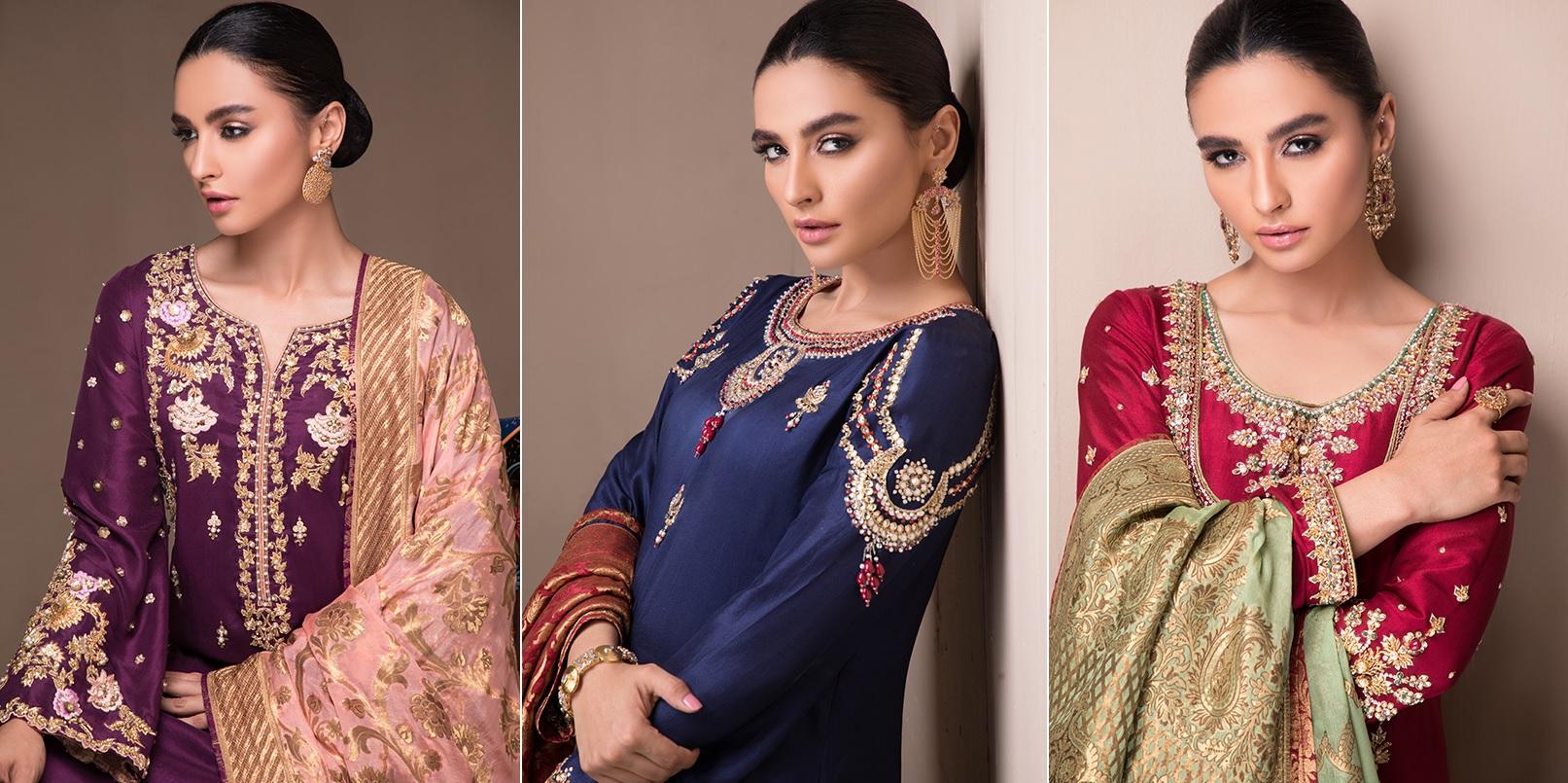 Women's Sylk Dresses Collection 2020 by Sana Abbas (1)