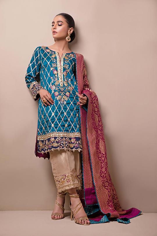 Women's Sylk Dresses Collection 2020 by Sana Abbas (10)