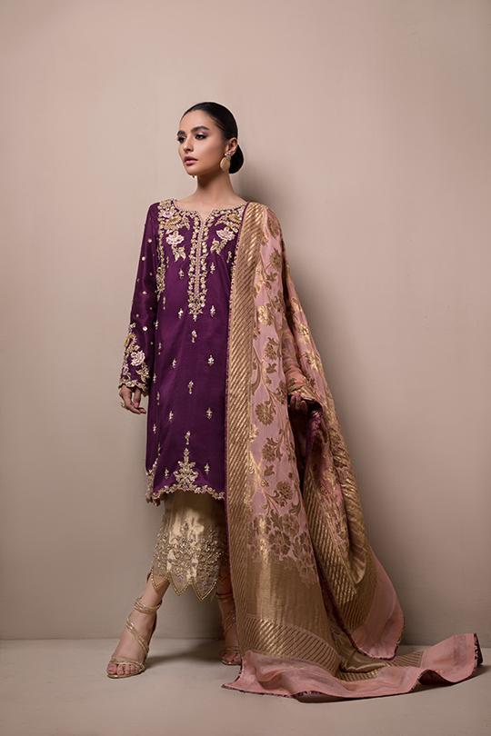 Women's Sylk Dresses Collection 2020 by Sana Abbas (2)