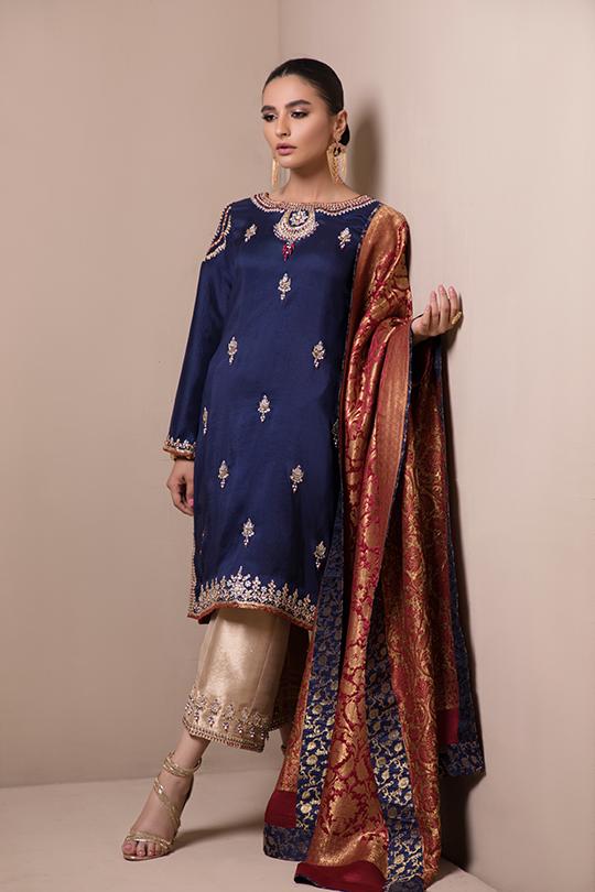 Women's Sylk Dresses Collection 2020 by Sana Abbas (4)