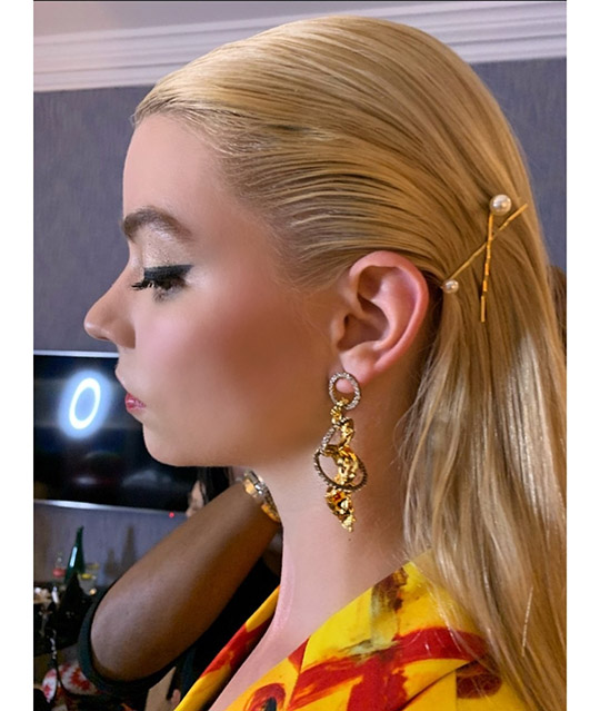 Actress Anya Taylor Joy Wears Esfir Jewels (2)