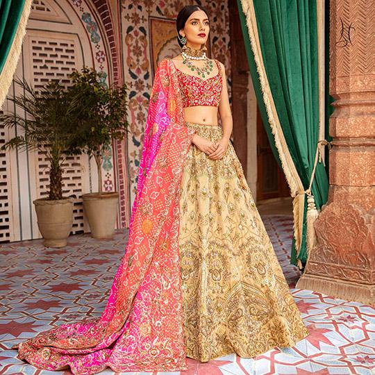 Diwan-i-Khas Latest Wedding Wear Collection 2020 By Shamsha Hashwani (10)