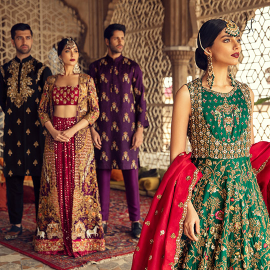 Diwan-i-Khas Latest Wedding Wear Collection 2020 By Shamsha Hashwani (12)