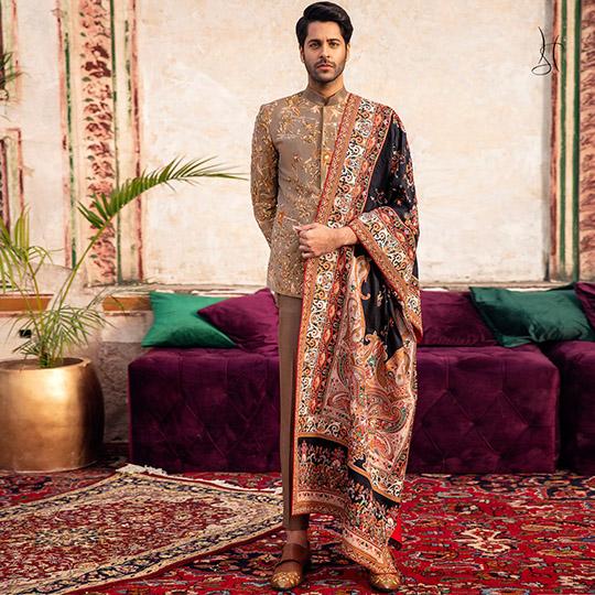 Diwan-i-Khas Latest Wedding Wear Collection 2020 By Shamsha Hashwani (13)