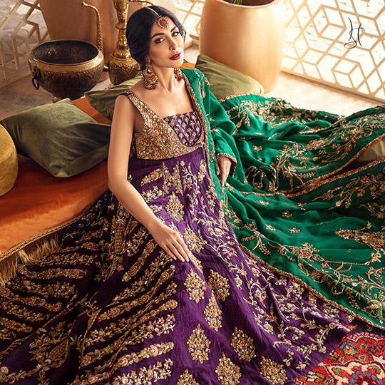 Diwan-i-Khas Latest Wedding Wear Collection 2020 By Shamsha Hashwani (2)