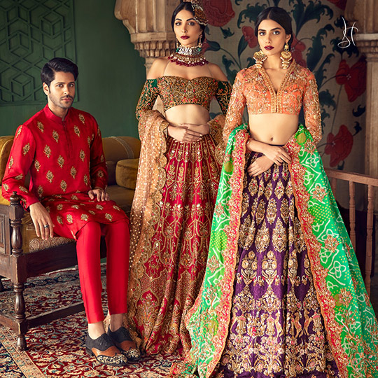 Diwan-i-Khas Latest Wedding Wear Collection 2020 By Shamsha Hashwani (3)