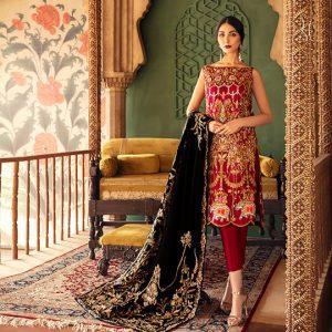Diwan-i-Khas Latest Wedding Wear Collection 2020 By Shamsha Hashwani (6)