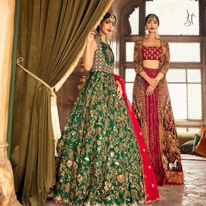 Diwan-i-Khas Latest Wedding Wear Collection 2020 By Shamsha Hashwani (8)