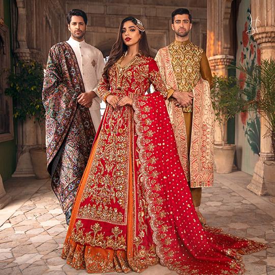 Diwan-i-Khas Latest Wedding Wear Collection 2020 By Shamsha Hashwani (9)