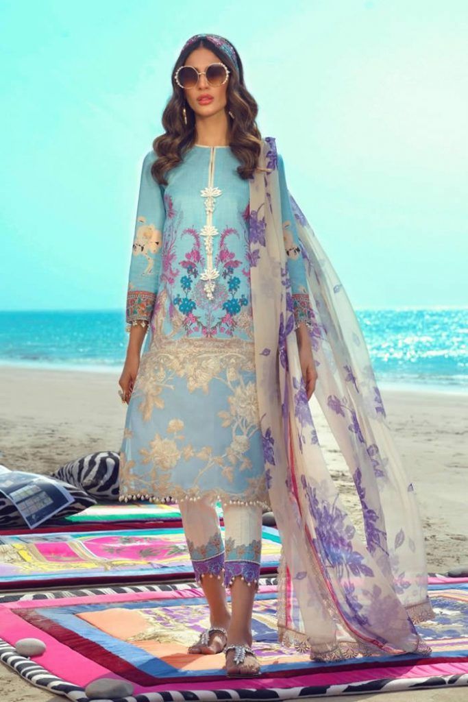 Spring Summer Lawn Collection 2020 By Sana Safinaz (2)
