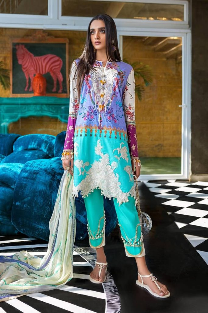 Spring Summer Lawn Collection 2020 By Sana Safinaz (3)