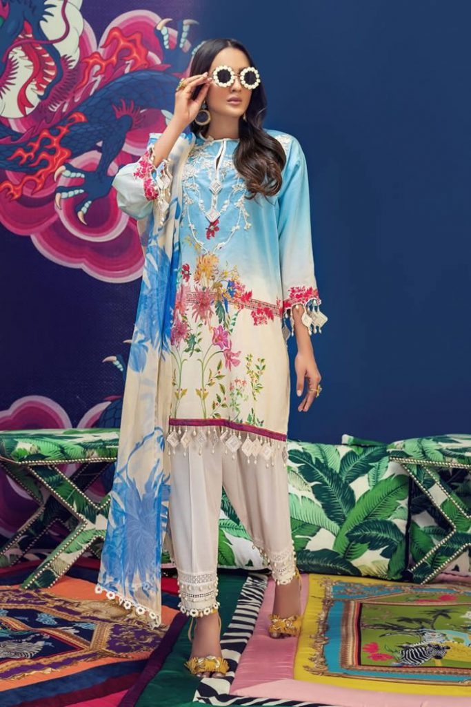 Spring Summer Lawn Collection 2020 By Sana Safinaz (9)