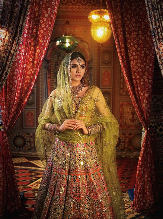 Summer 2020 Lehenga Choli Designs By Nomi Ansari (6)