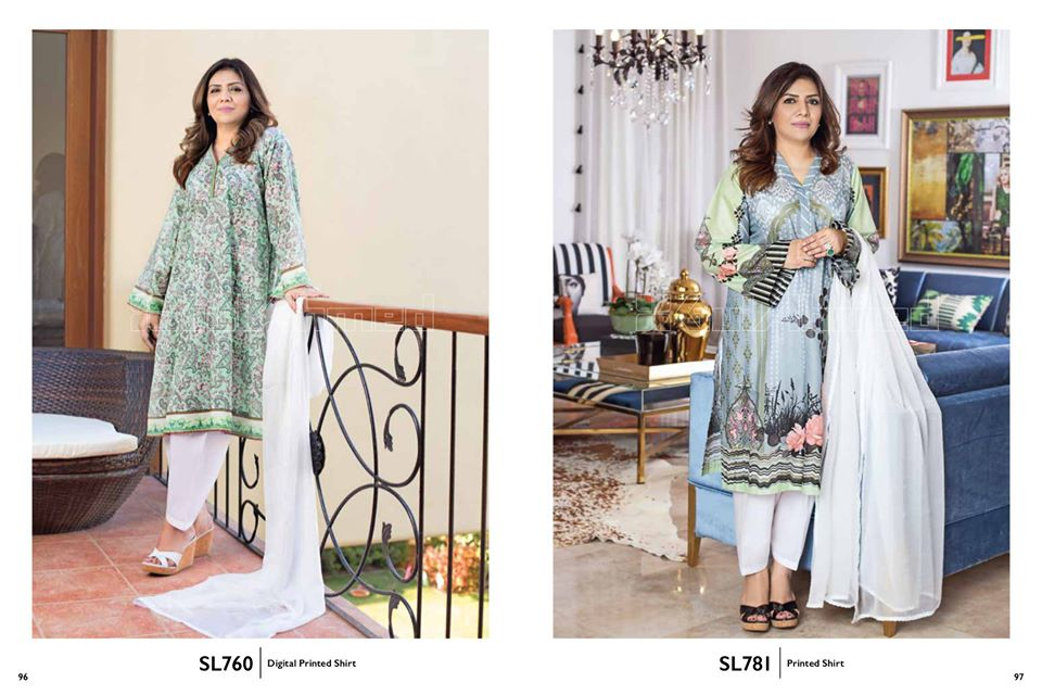 Gul Ahmed SpringSummer Dresses Collection 2020 For Mothers (18)