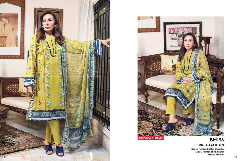 Gul Ahmed SpringSummer Dresses Collection 2020 For Mothers (19)