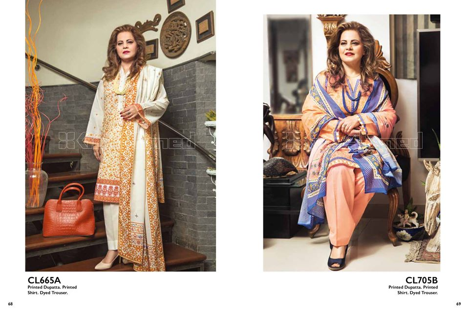 Gul Ahmed SpringSummer Dresses Collection 2020 For Mothers (2)