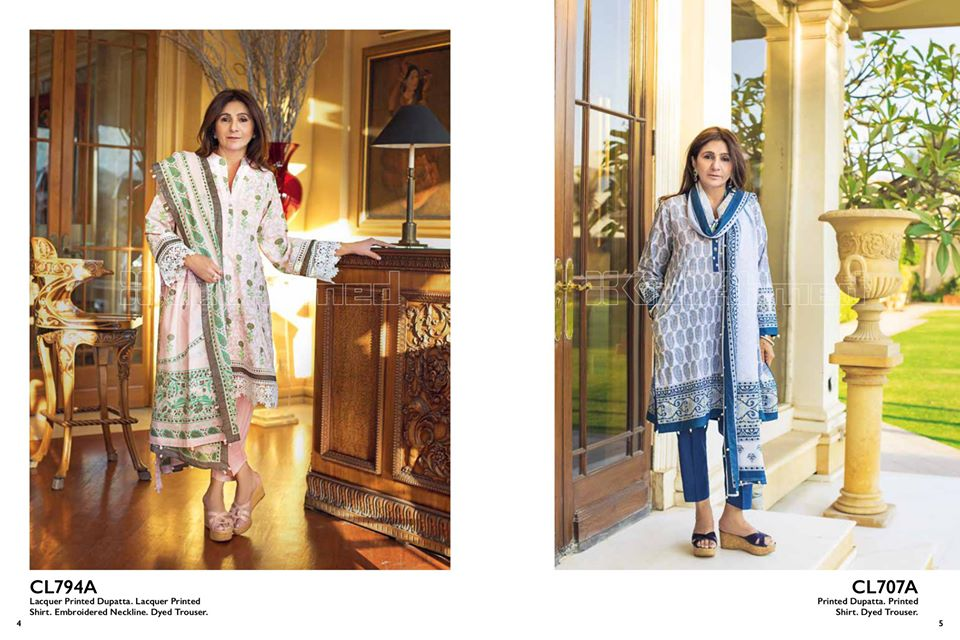 Gul Ahmed SpringSummer Dresses Collection 2020 For Mothers (21)