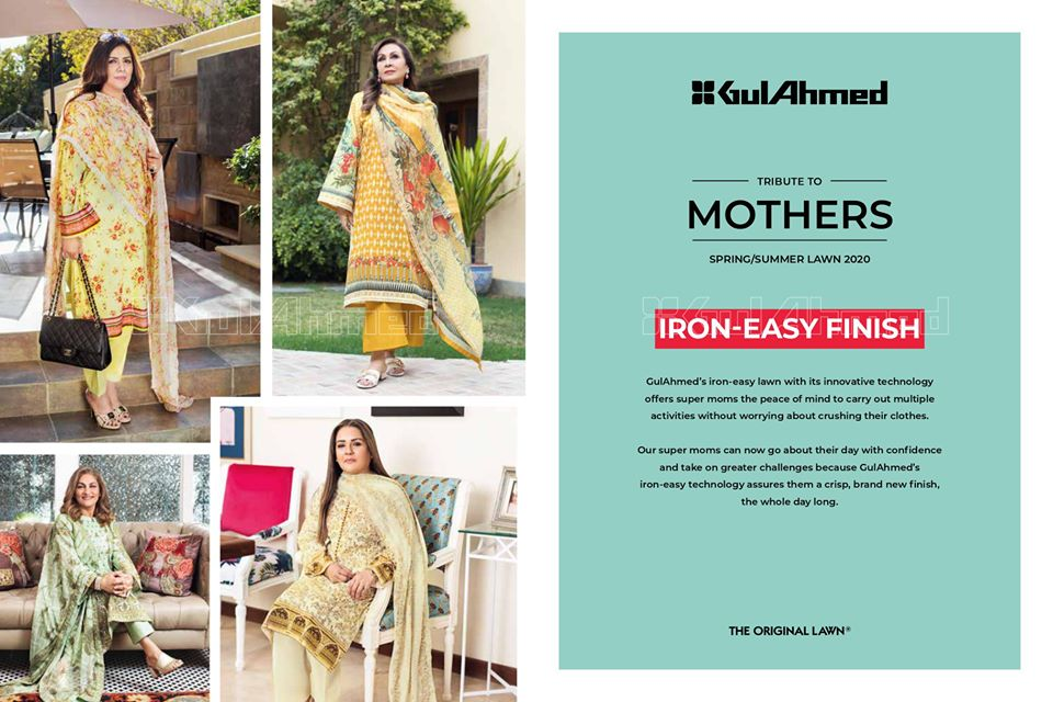 Gul Ahmed SpringSummer Dresses Collection 2020 For Mothers (34)