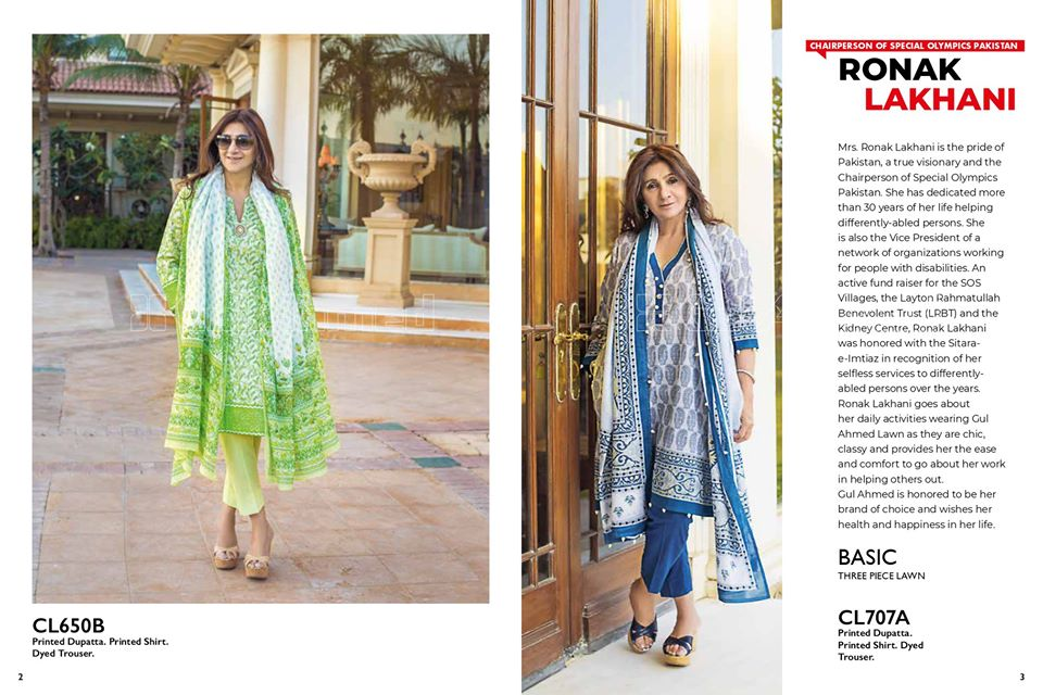 Gul Ahmed SpringSummer Dresses Collection 2020 For Mothers (37)