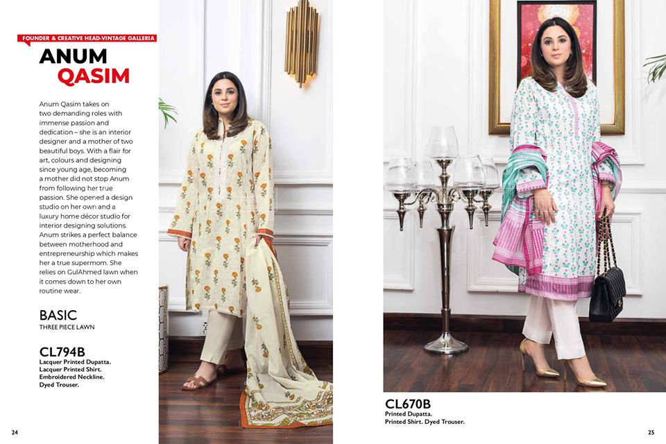 Gul Ahmed SpringSummer Dresses Collection 2020 For Mothers (41)