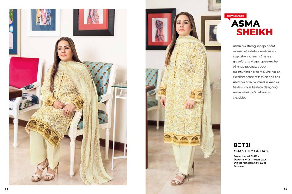 Gul Ahmed SpringSummer Dresses Collection 2020 For Mothers (43)