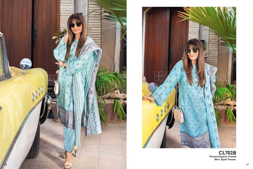 Gul Ahmed SpringSummer Dresses Collection 2020 For Mothers (45)