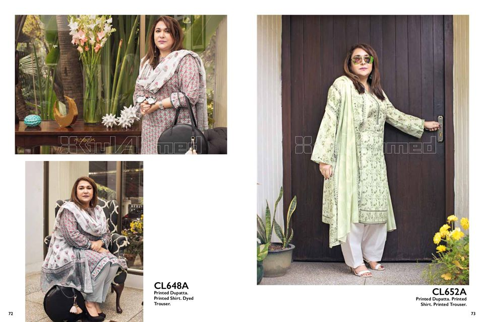 Gul Ahmed SpringSummer Dresses Collection 2020 For Mothers (50)
