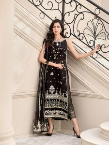 Noor Luxury Lawn Collection 2020 Looks By Saadia Asad (14)