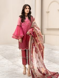 Noor Luxury Lawn Collection 2020 Looks By Saadia Asad (17)