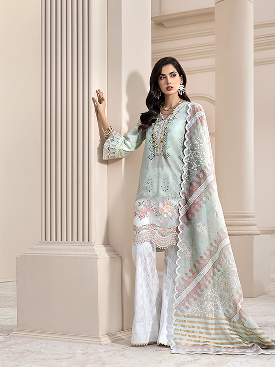 Noor Luxury Lawn Collection 2020 Looks By Saadia Asad (23)