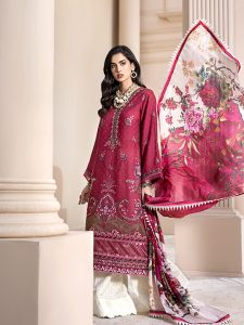 Noor Luxury Lawn Collection 2020 Looks By Saadia Asad (24)