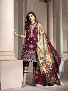 Noor Luxury Lawn Collection 2020 Looks By Saadia Asad (25)