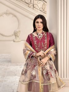 Noor Luxury Lawn Collection 2020 Looks By Saadia Asad (7)
