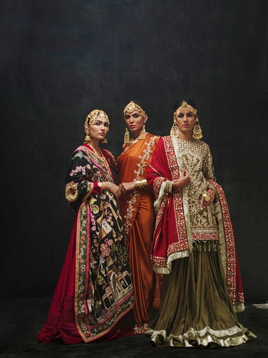 Sanaii Bridal Wear Collection 2020 By Nida Azwer (1)