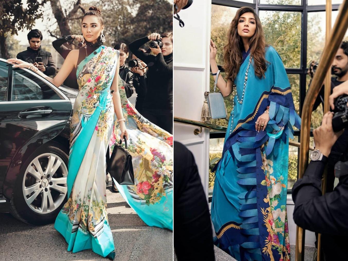 Saris Collection For Spring Summer 2020 By Elan (7)