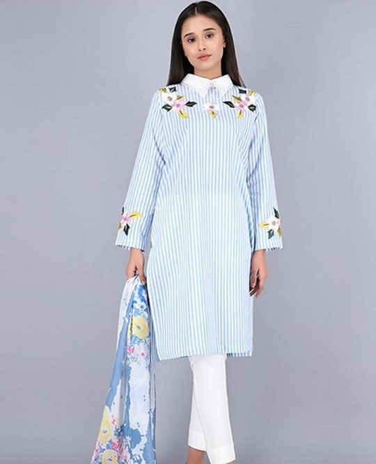 Womens Top 10 Summer Kurta Designs 2020 (9)