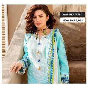 GulAhmed Women's Eid Dresses Collection 2020 (2)