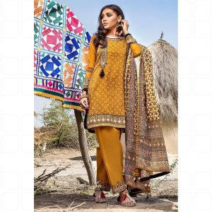 GulAhmed Women's Eid Dresses Collection 2020 (8)