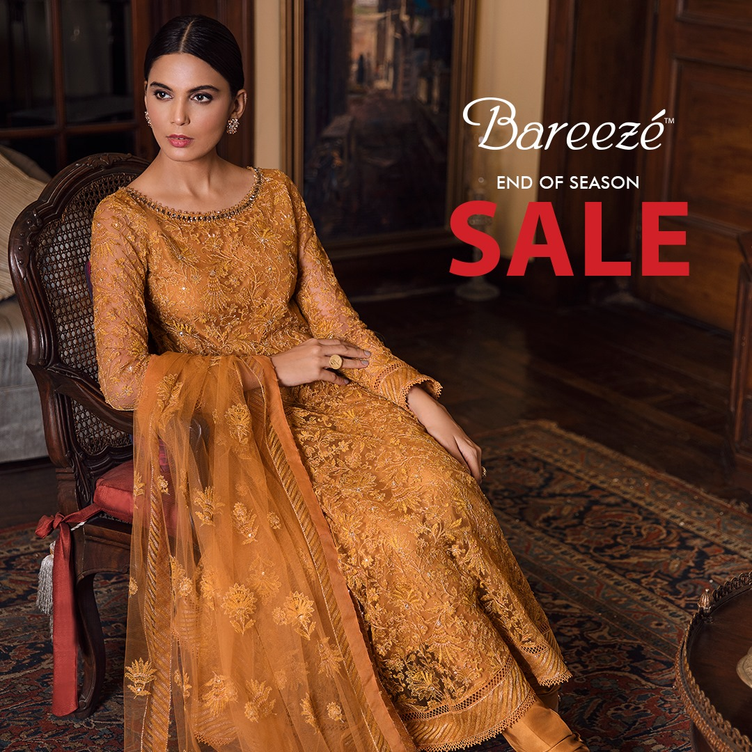 Bareeze end of season Fully embroidered Winter Collection 2021 (11)