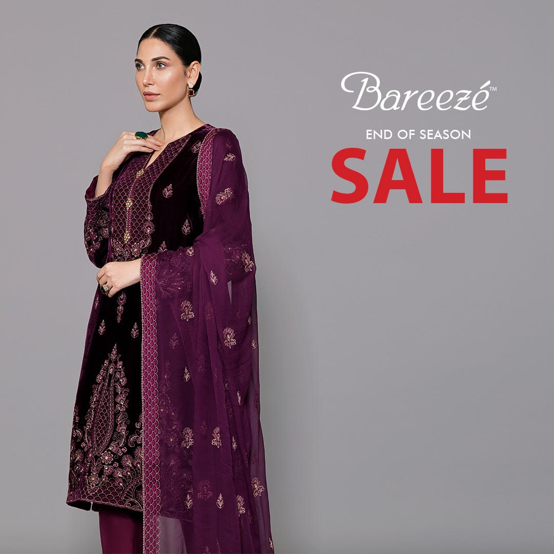 Bareeze end of season Fully embroidered Winter Collection 2021 (13)