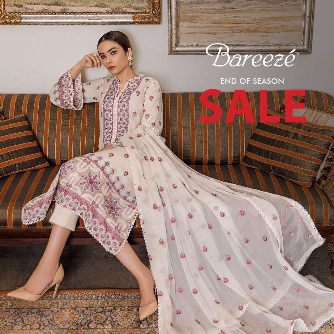 Bareeze end of season Fully embroidered Winter Collection 2021 (16)