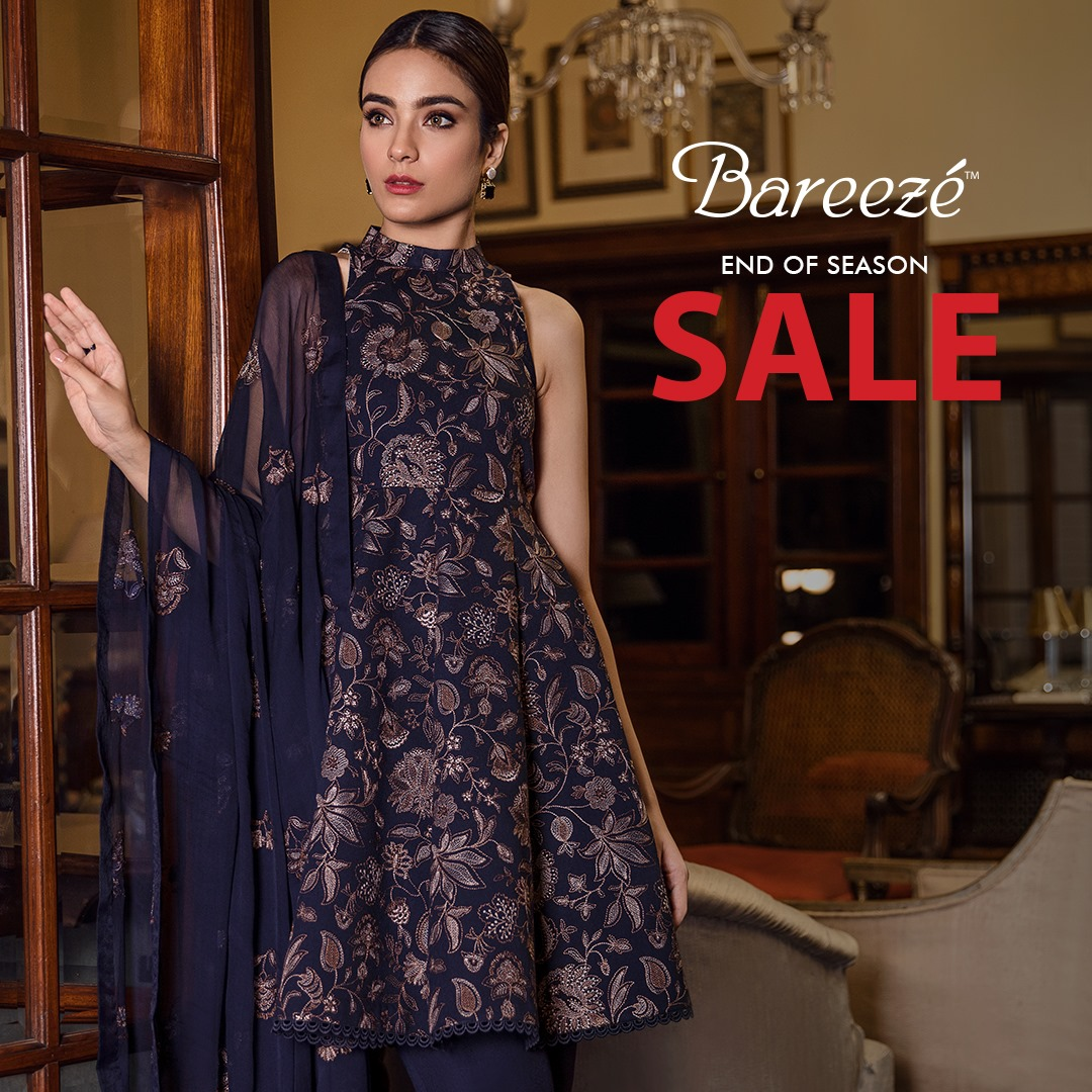 Bareeze end of season Fully embroidered Winter Collection 2021 (17)