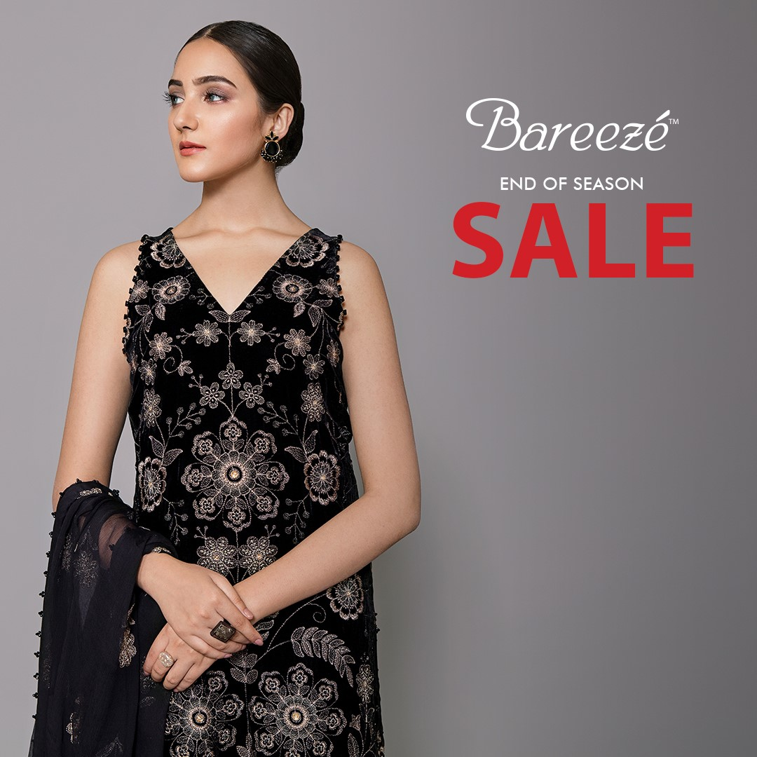 Bareeze end of season Fully embroidered Winter Collection 2021 (18)