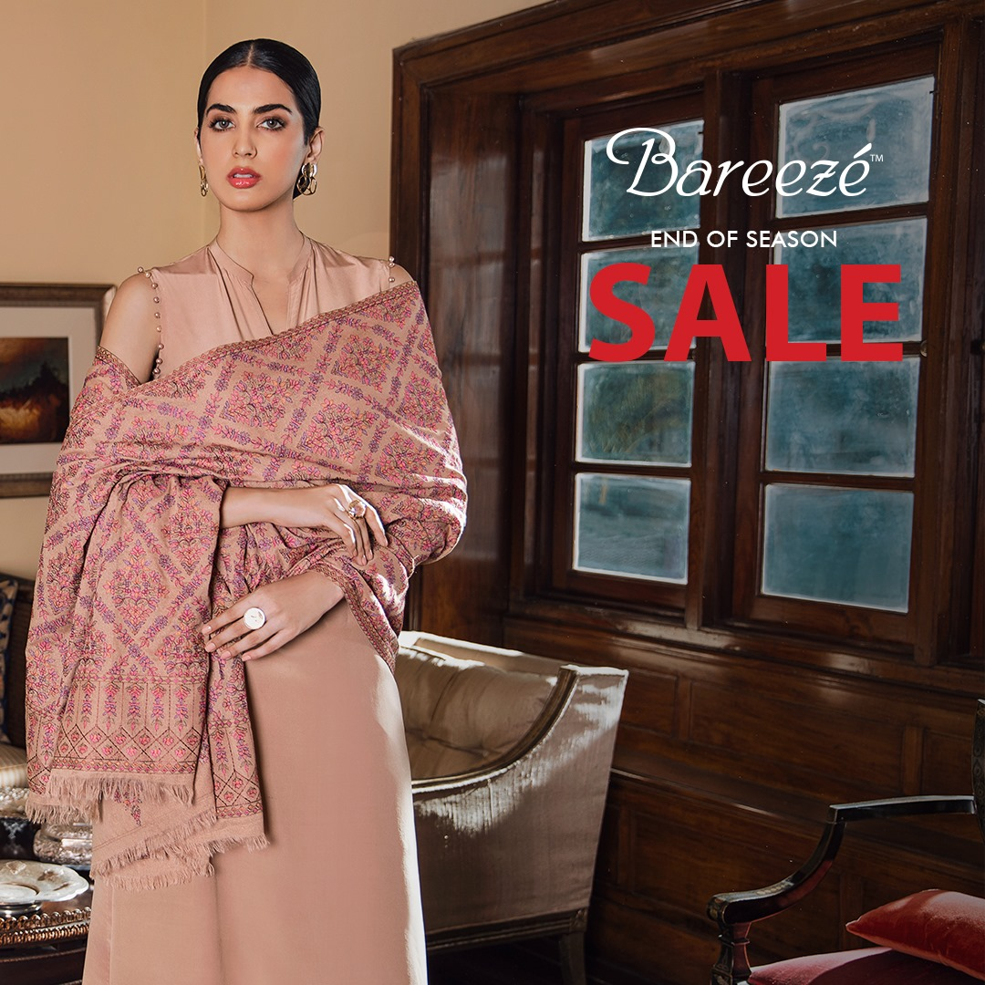 Bareeze end of season Fully embroidered Winter Collection 2021 (8)