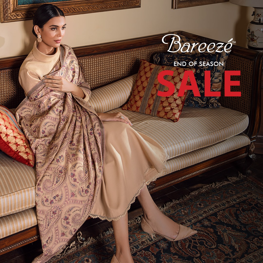 Bareeze end of season Fully embroidered Winter Collection 2021 (9)