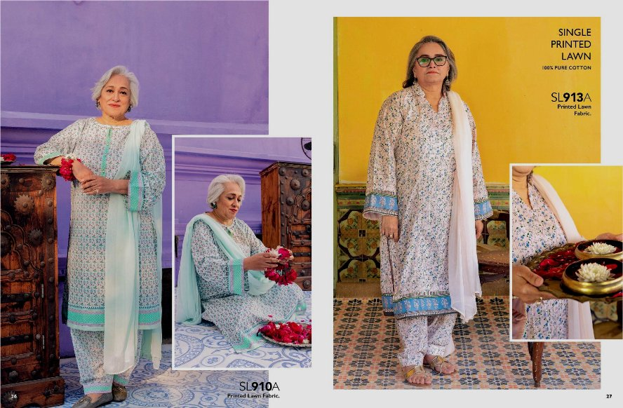 Tribute to Mothers Summer wears Collection 2021 By Gul Ahmed (10)