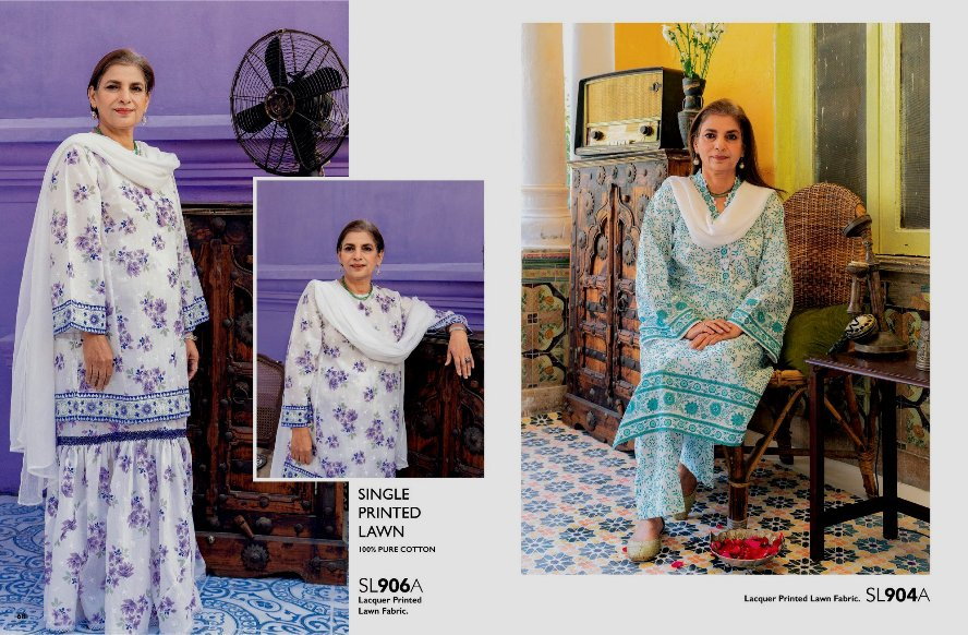 Tribute to Mothers Summer wears Collection 2021 By Gul Ahmed (14)