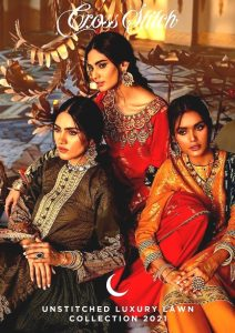 Shehr-e-Uns Unstitched Eid Dresses Collection 2021 By Cross Stitch (1)