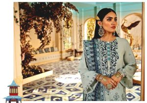 Shehr-e-Uns Unstitched Eid Dresses Collection 2021 By Cross Stitch (15)